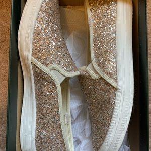 Kate Spade Glitter Keds